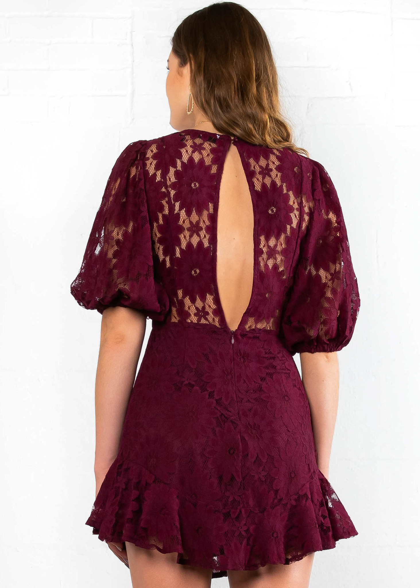MORE THAN LOVE LACE DRESS
