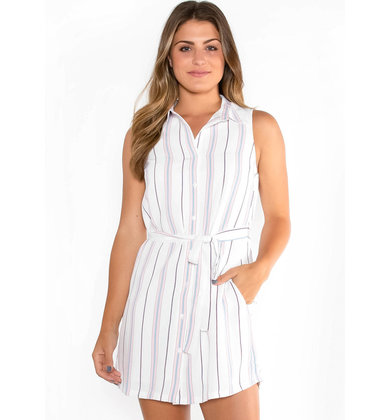 CAPE COD STRIPED DRESS