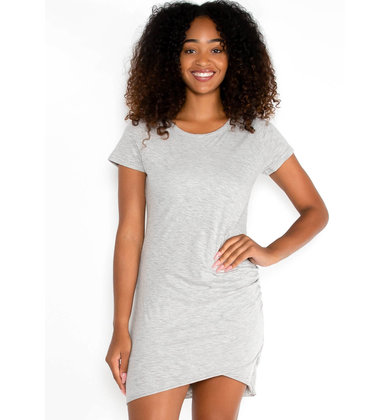 WALK MY WAY DRESS - GREY