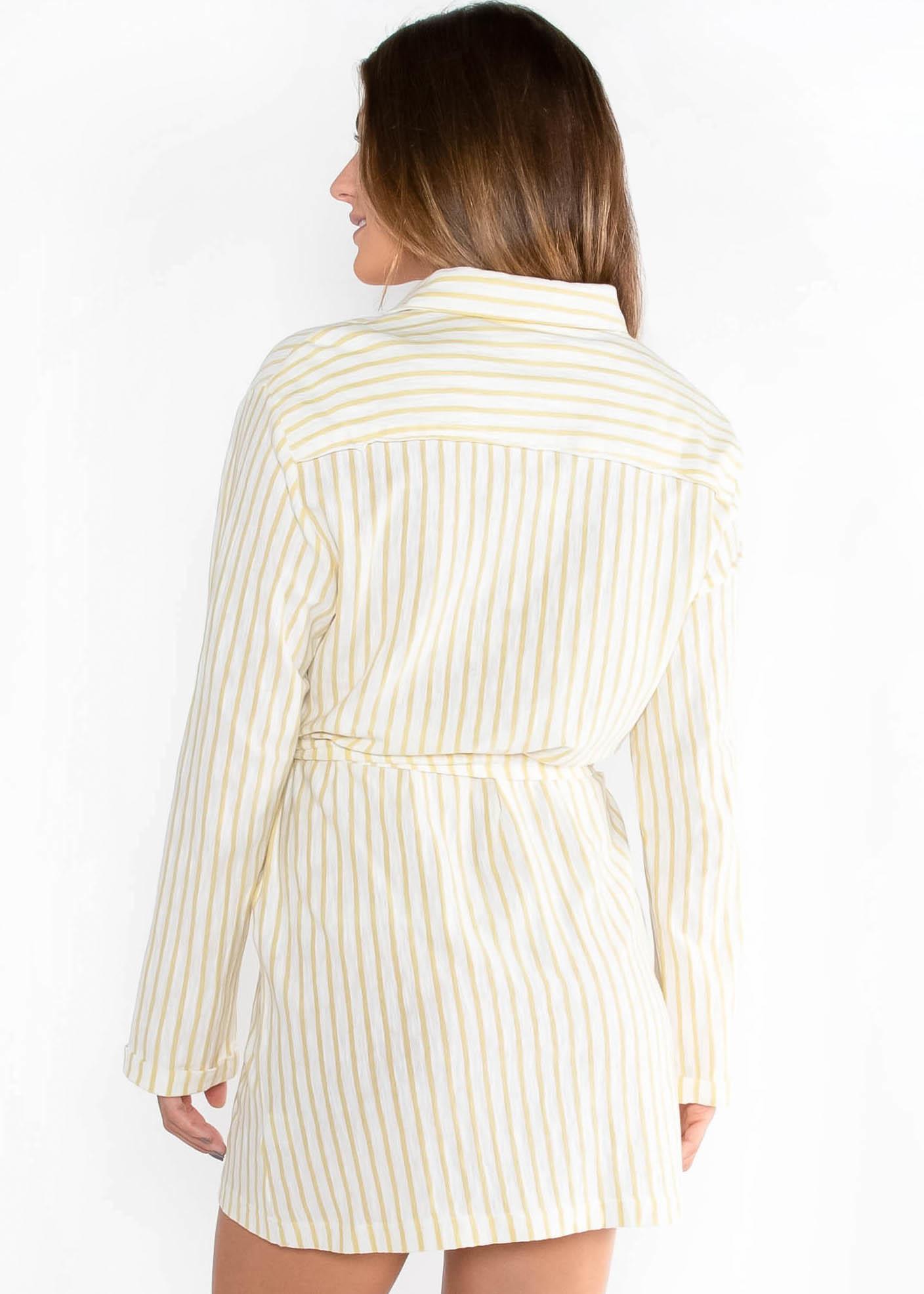 HONEYSUCKLE STRIPED DRESS