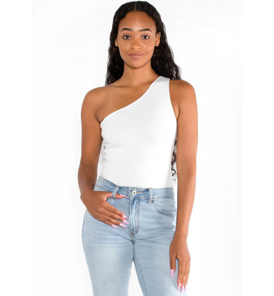 MEET FOR MARGS WHITE BODYSUIT
