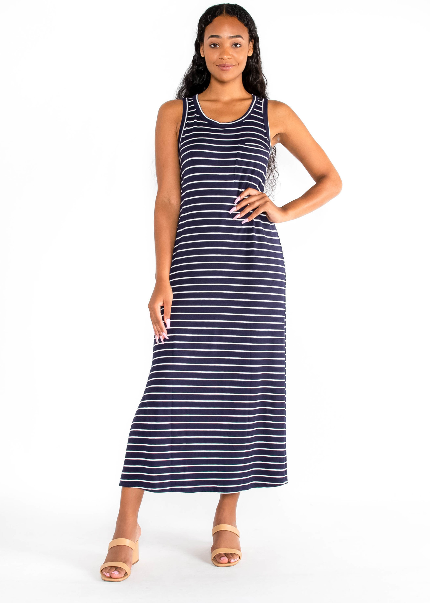 DAYS LIKE THIS STRIPED DRESS
