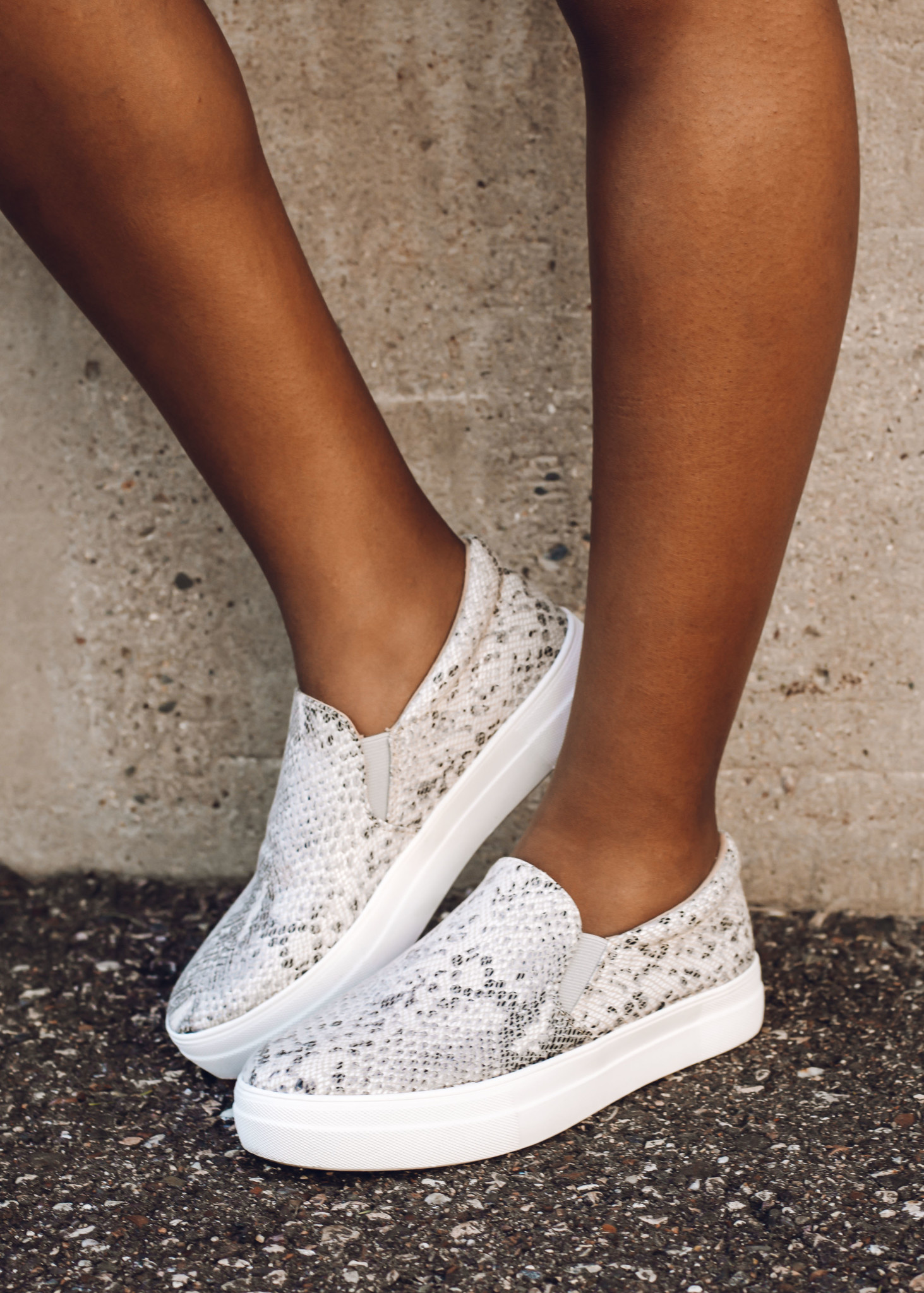 HYPNOTIC SNAKESKIN SNEAKERS