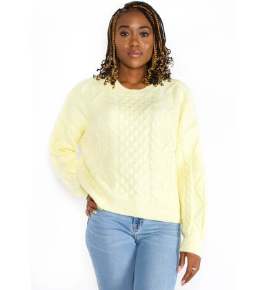 PERFECT PICK SWEATER - YELLOW