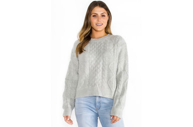 PERFECT PICK SWEATER - GREY