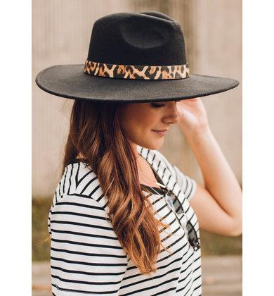 TOP NOTCH HAT - BLACK