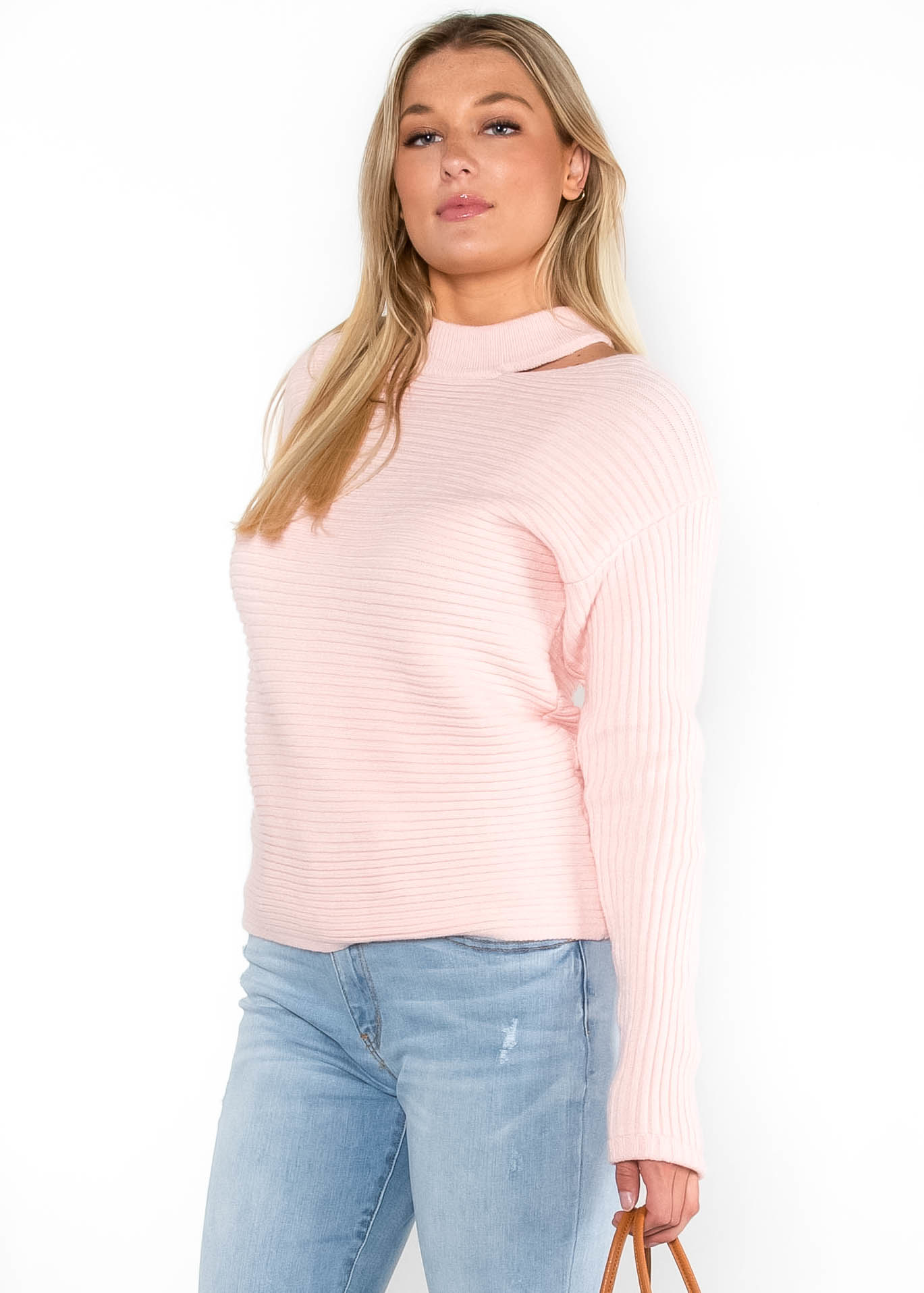 SOMEBODY TO LOVE SWEATER - PINK