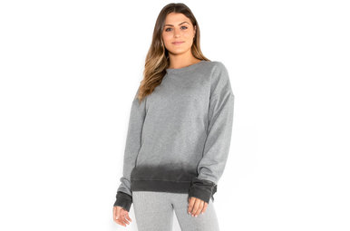 CONTROLLED CHAOS OMBRE SWEATSHIRT