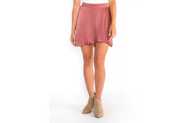 THREE STRIKES SKORT - ROSE