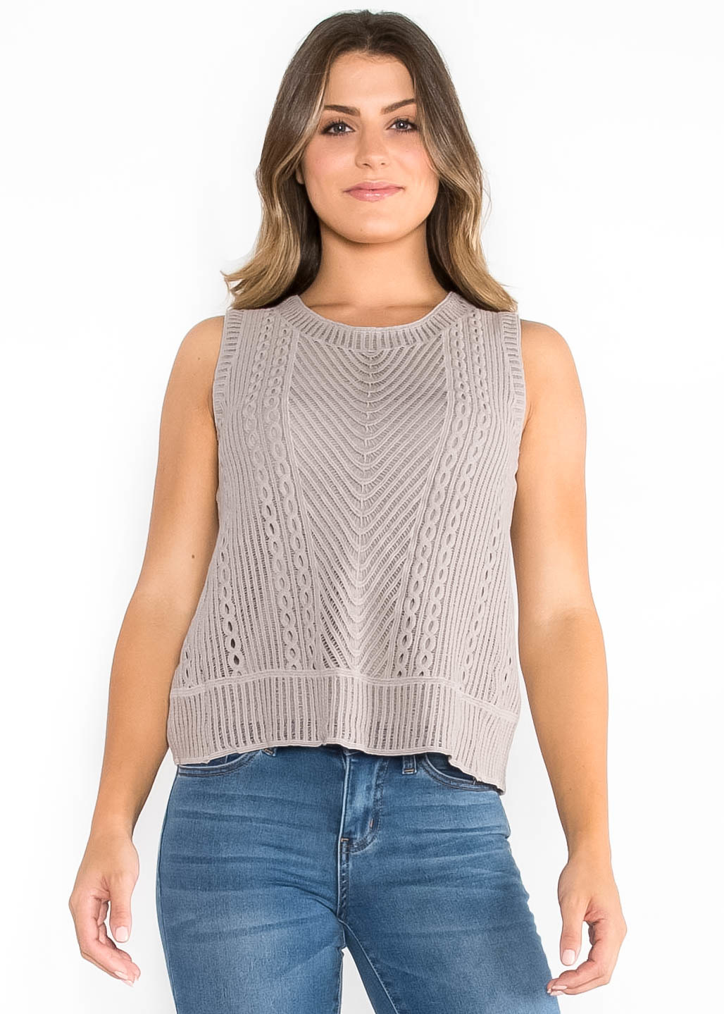WHEN IN DOUBT KNIT TANK TOP