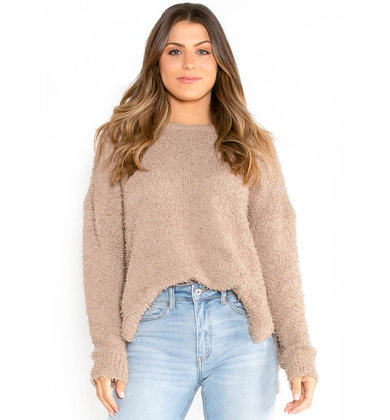 SEPTEMBER SWEATER - MOCHA