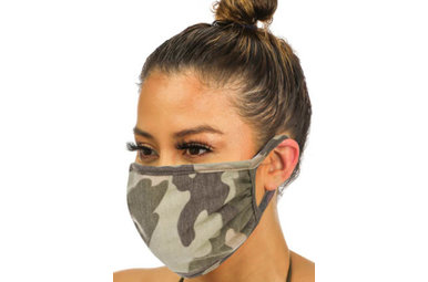 LINDEN CAMO FACE MASK