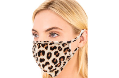 HIGHLAND LEOPARD FACE MASK