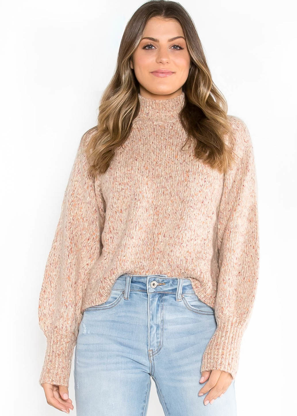 WILDFIRE SPECKLED SWEATER
