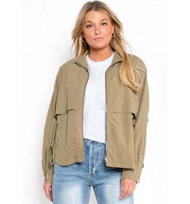 AUTUMN SKIES JACKET - OLIVE