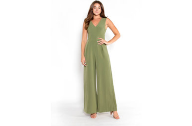 CATCHING LOVE JUMPSUIT - OLIVE