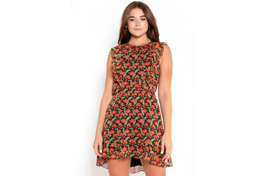 COLOR ME PRETTY FLORAL DRESS