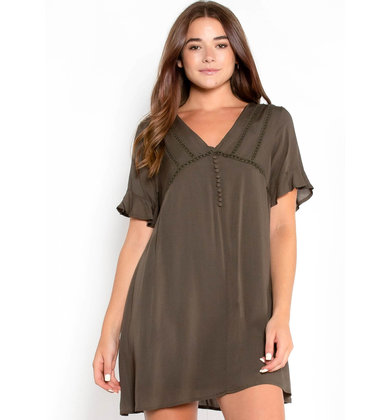 TOURING ROME BABYDOLL DRESS