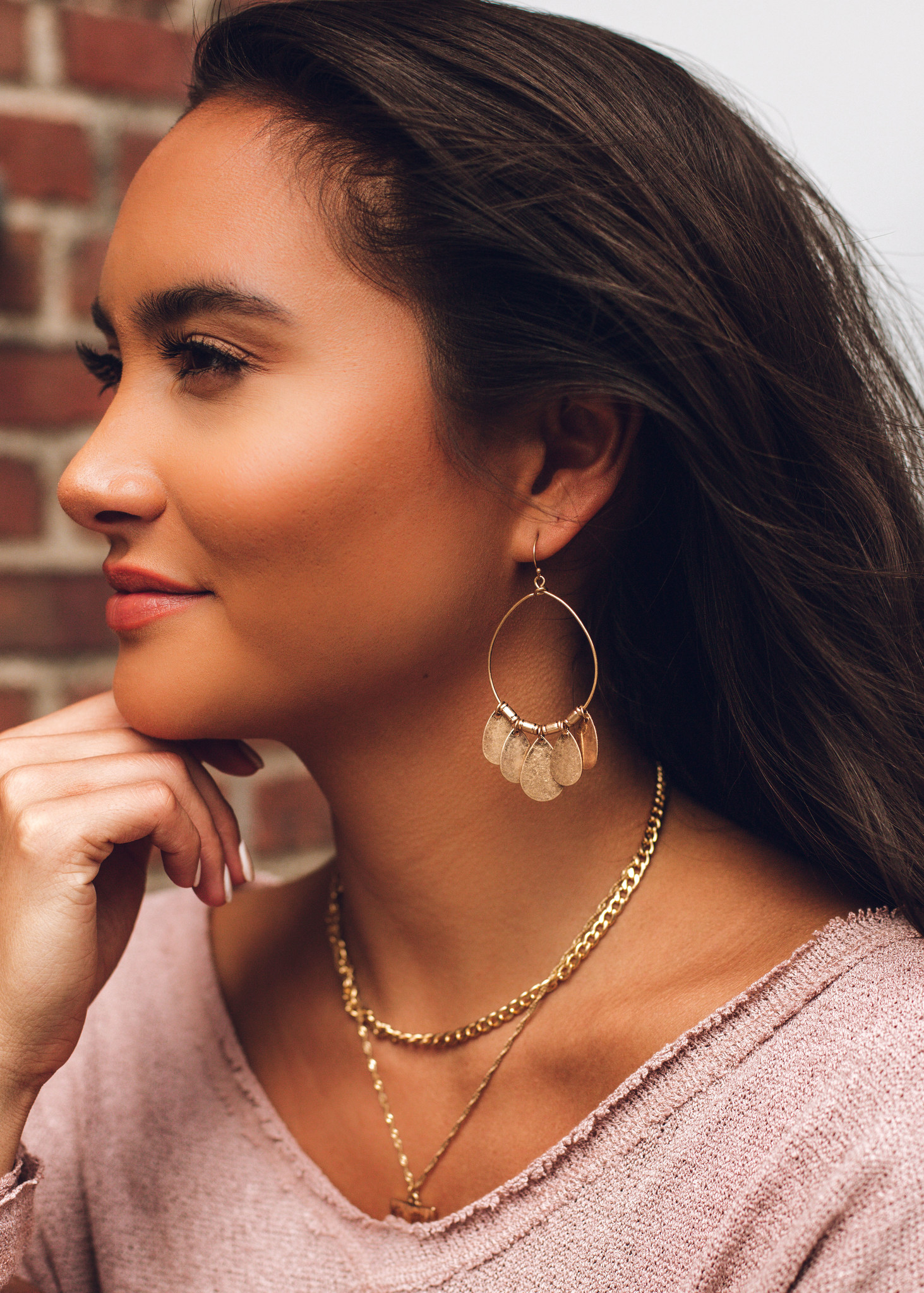 VANESSA EARRINGS - GOLD