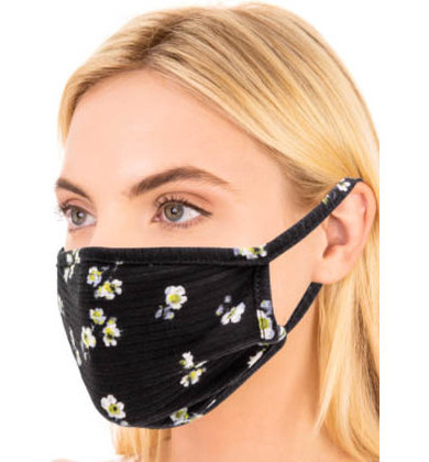 FLORAL FUN CLOTH FACE MASK