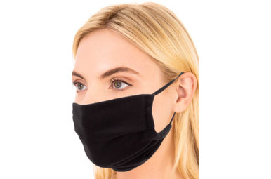 ALL IN BLACK FACE MASK