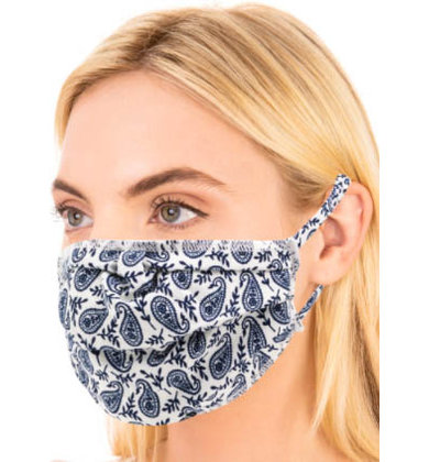 AMSTERDAM PAISLEY FACE MASK