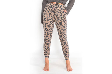 NEW FAVORITE LEOPARD JOGGERS