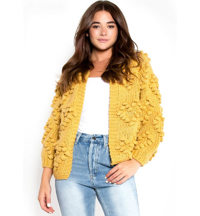 EXTRA LAYER TEXTURED CARDIGAN