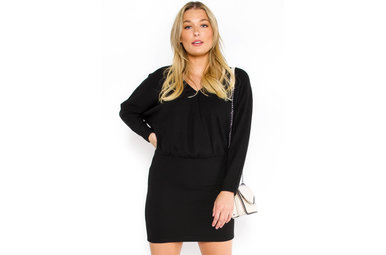 ALL OUT OF LOVE DRESS - BLACK