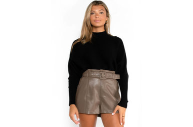 PARTY DON'T STOP SWEATER - BLACK
