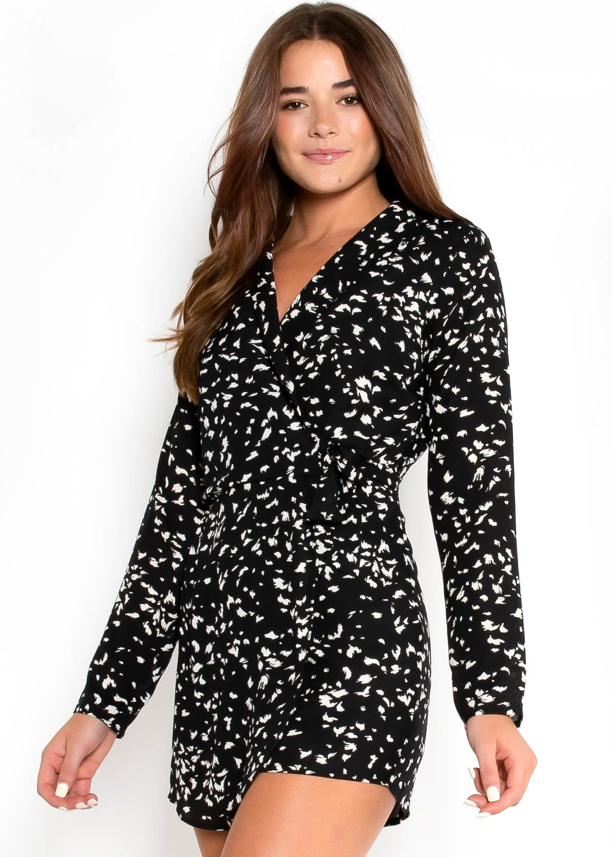 MOST WANTED PRINTED ROMPER
