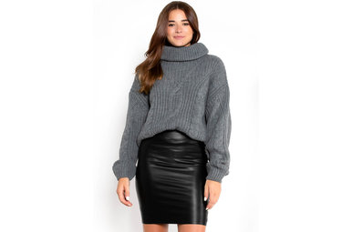 CRISP AIR SWEATER - CHARCOAL
