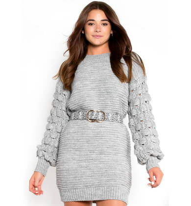 FALL ESSENTIAL SWEATER DRESS