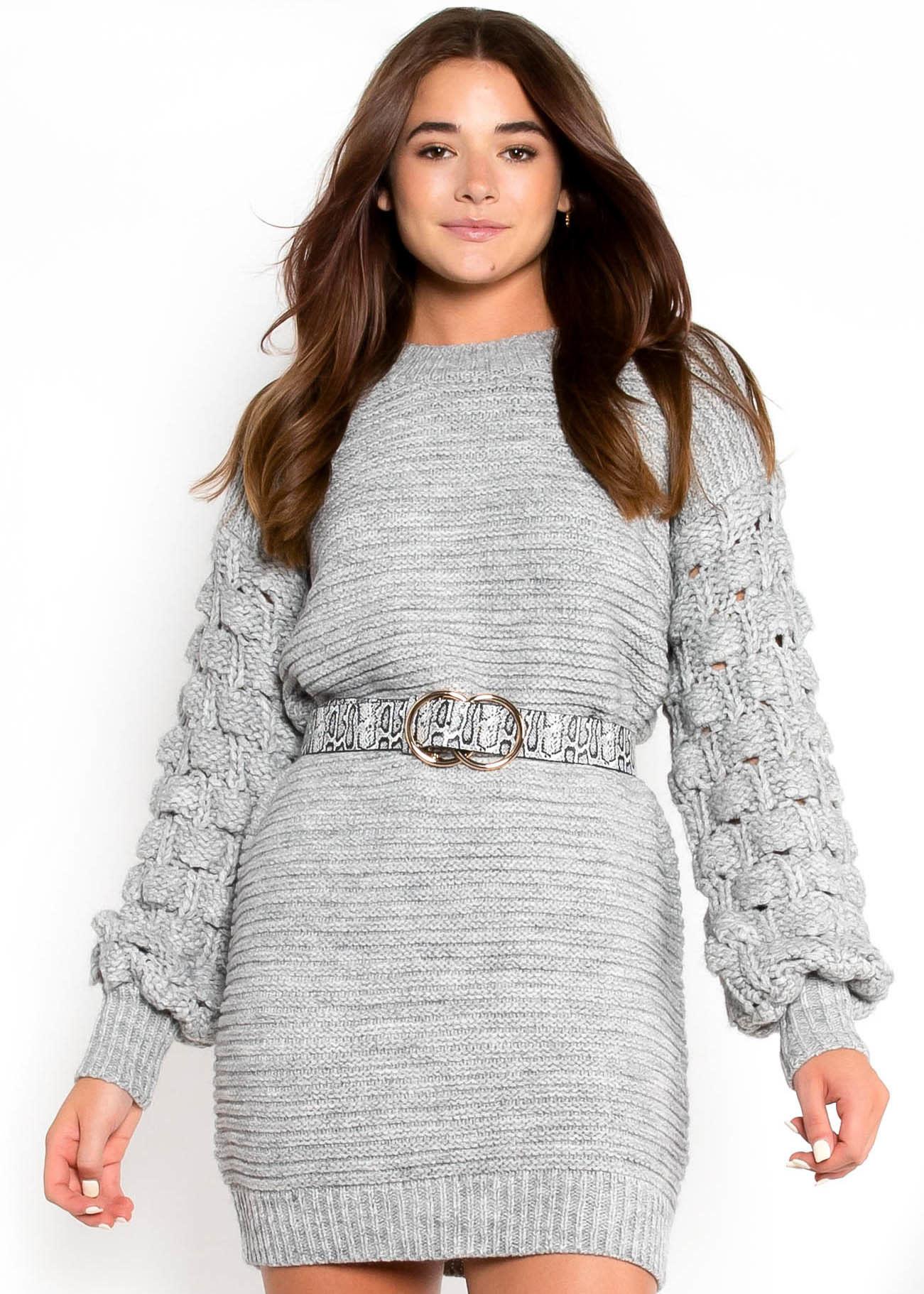 FALL ESSENTIAL SWEATER DRESS