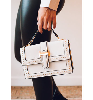 NORTH LOOP HANDBAG - IVORY
