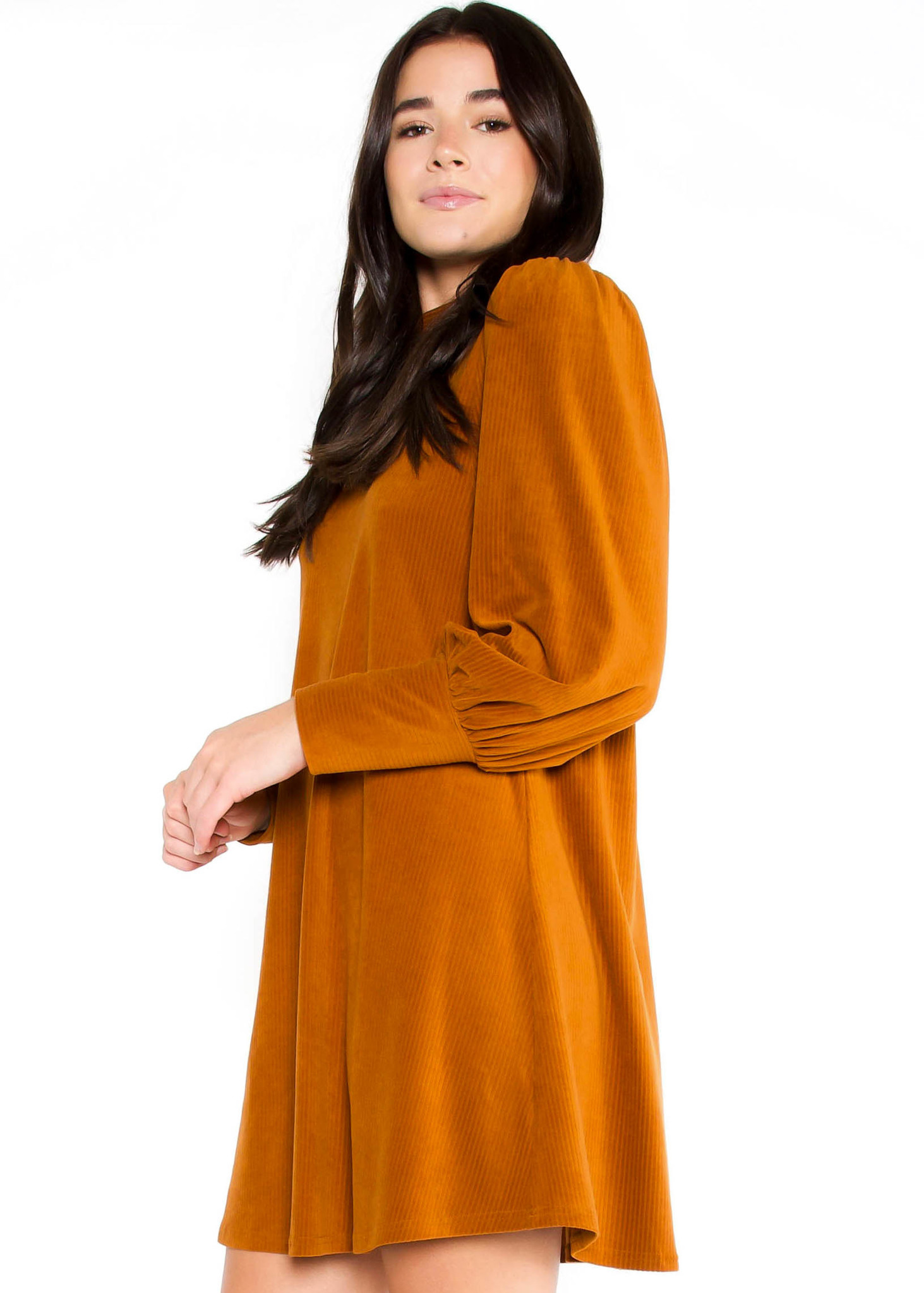 SPICE SPICE BABY SUEDE DRESS
