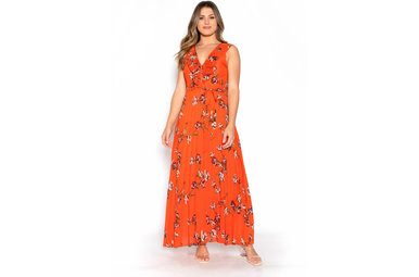 FALL FOLIAGE MAXI DRESS