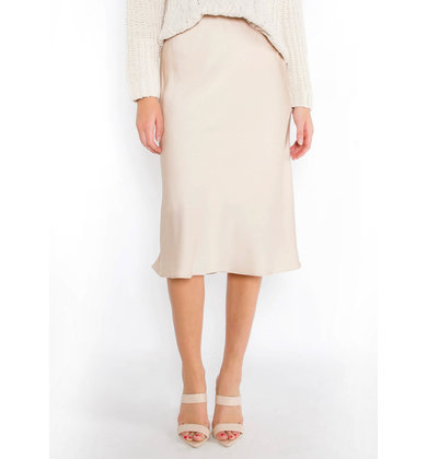 RISING STAR CHAMPAGNE SKIRT