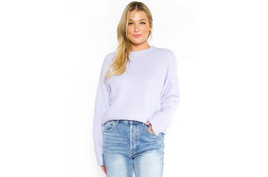 THE USUAL SWEATER - LAVENDER