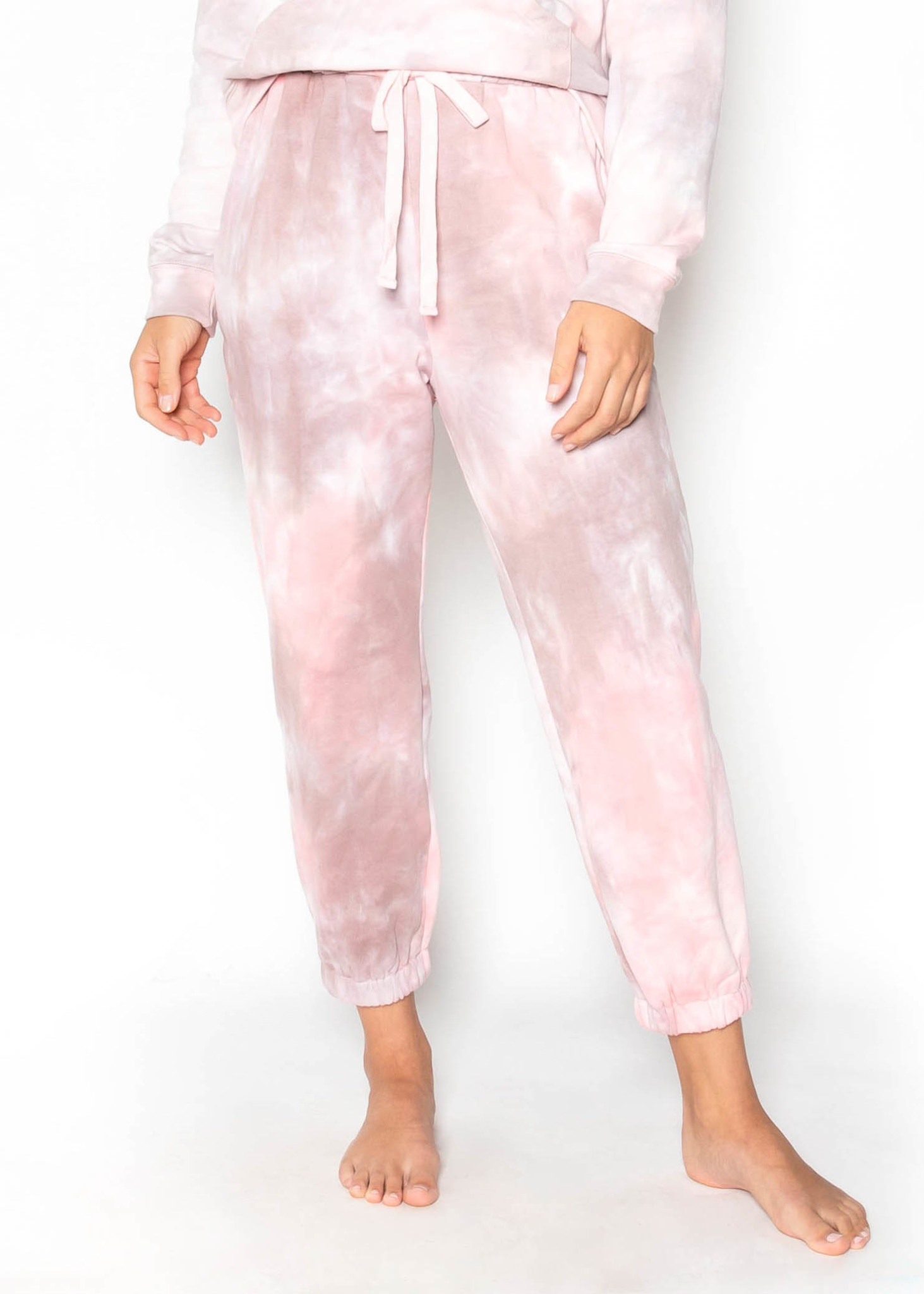 MOVIE NIGHT TIE DYE JOGGERS