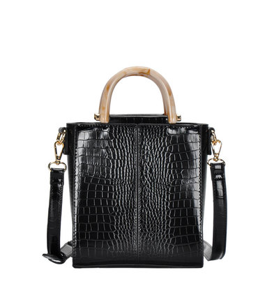 SWEPT AWAY HANDBAG - BLACK