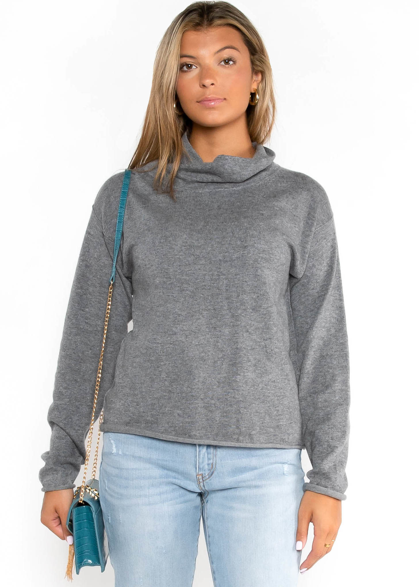 ANOTHER VICE COWL NECK SWEATER