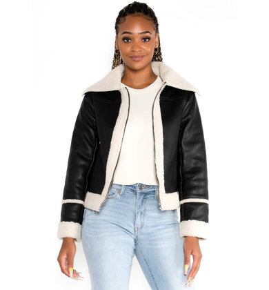 ASPEN BLACK LEATHER JACKET