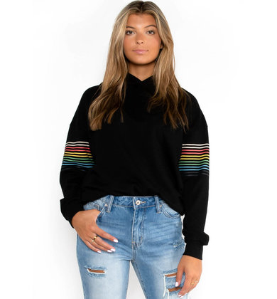 COOL TOUCH BLACK SWEATSHIRT