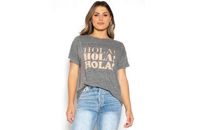 HOLA! GRAPHIC T-SHIRT