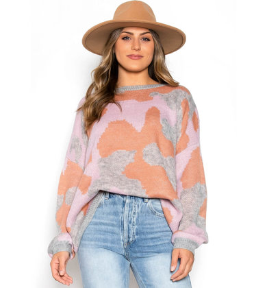 STILLWATER PRINTED SWEATER