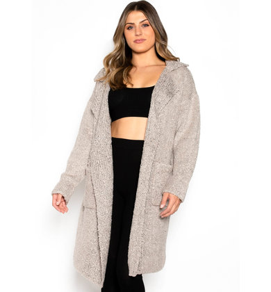 WINIFRED COZY LONG CARDIGAN