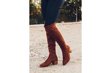 LUCKY LADY BOOTS - BROWN