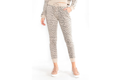 NEXT LEVEL LEOPARD JOGGERS