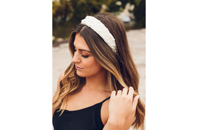 BLAIR WHITE PEARL HEADBAND